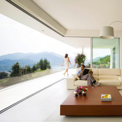 swissFineLine Corner solution | Patio doors | swissFineLine