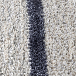 Connect 180201  with silk stripe ST03 | Formatteppiche | CSrugs