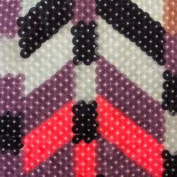 Colorida col. 101 yellow/pink/gray | Drapery fabrics | Jakob Schlaepfer