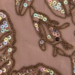 Cordella col. 103 brown/irise | Drapery fabrics | Jakob Schlaepfer
