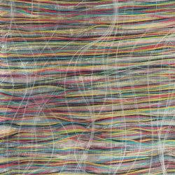 Filo col. 102 white/multicolor | Drapery fabrics | Jakob Schlaepfer