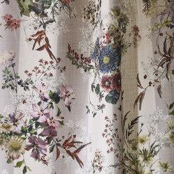 Linella col. 101 multicolor/gray | Tejidos decorativos | Jakob Schlaepfer