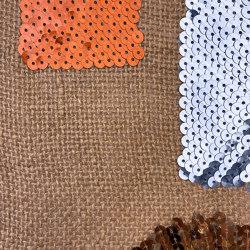 Linopaille col. 101 linen/brown/blue | Drapery fabrics | Jakob Schlaepfer