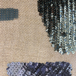 Linopaille col. 103 linen/green/gray | Drapery fabrics | Jakob Schlaepfer