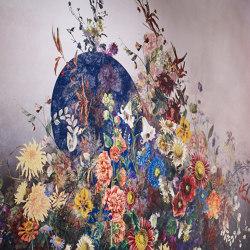 Poppy Byobu | Wall coverings / wallpapers | Jakob Schlaepfer
