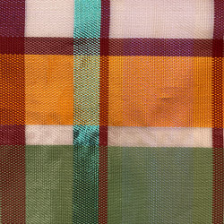 Quadri col. 101 multicolor/transparent | Drapery fabrics | Jakob Schlaepfer