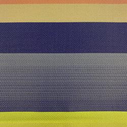 Toon col. 101 acid yellow/blue/ecru | Drapery fabrics | Jakob Schlaepfer