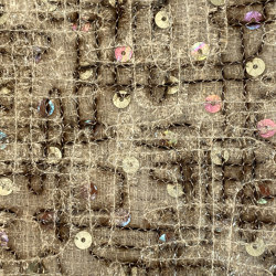 Tweedy col. 103 light gray/beige | Drapery fabrics | Jakob Schlaepfer