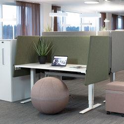 Peak Desk Screen Booth | Table dividers | Götessons