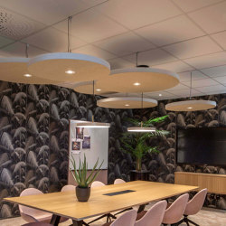 Sound Off ceiling | Sound absorbing suspended panels | Götessons