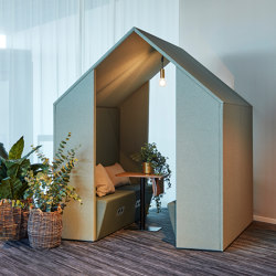 Open Hut / Open Half a Hut | Office Pods | Götessons