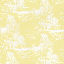 À Contre-Jour Wall col.5 citron givré | Wall coverings / wallpapers | Dedar
