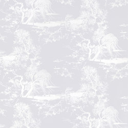 À Contre-Jour Wall col.6 lavender milk | Wall coverings / wallpapers | Dedar