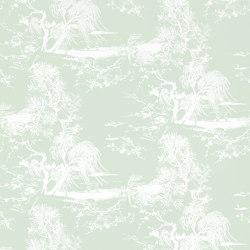 À Contre-Jour Wall col.7 acqua | Wall coverings / wallpapers | Dedar