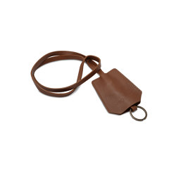 Keyring cognac leather | Key cabinets / hooks | August Sandgren A/S