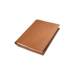 Notebook cognac leather | Notebooks | August Sandgren A/S