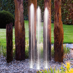 Water Trio | Waterspout fountains | Oase