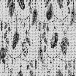 Atelier 47 | Wallpaper DD117590 Featherpuzzle1 | Wall coverings / wallpapers | Architects Paper