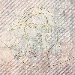 Atelier 47 | Wallpaper DD118050 Goldenline3 | Revestimientos de paredes / papeles pintados | Architects Paper