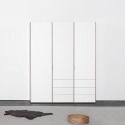 METRUM  customized shelf- and wardrobesystem | Cabinets | Sanktjohanser