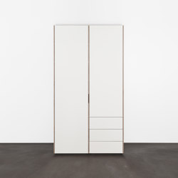 METRUM  customized shelf- and wardrobesystem | Cabinets | Sanktjohanser
