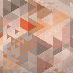 Atelier 47 | Wallpaper DD116690 Vintagetriangle2 | Wall coverings / wallpapers | Architects Paper