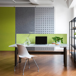 Hanging Pendents | EchoPanel® Dot | Sound absorbing room divider | Woven Image