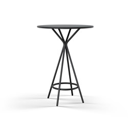 crona steel Tisch | Tables hautes | Brunner