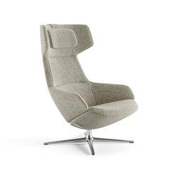 Aston Club | 4 ways high backrest | Armchairs | Arper