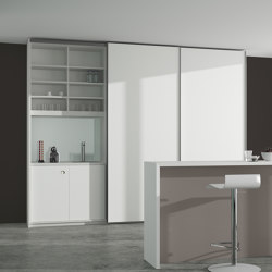 basic S Suspended door system | Cuisines compactes | werner works