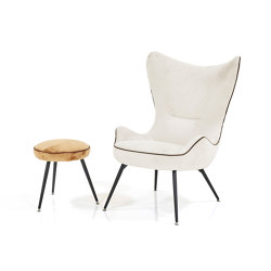 Contessa 1956 Chair & Stool | Armchairs | Wittmann