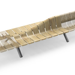 Ascent Rise straight Module | Benches | Green Furniture Concept