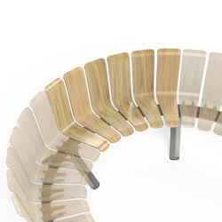 Ascent Single Back Concave 60 module | Sitzbänke | Green Furniture Concept
