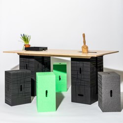 Xbrick | X-table | Tavoli contract | wd3