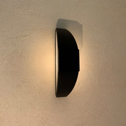 SOLAR wall lamp | Trait de lune | Outdoor wall lights | LYX Luminaires