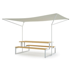 MIAMI SUN SHADE | Tables and benches | Diemmebi