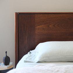 León Cedar Wood Headboard | Testiere di letto | Pfeifer Studio