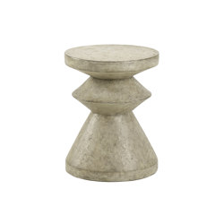 Triptic Concrete Occasional Table | Side tables | Pfeifer Studio