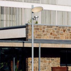 Arne indirect lighting pole application | Street lights | URBIDERMIS SANTA & COLE