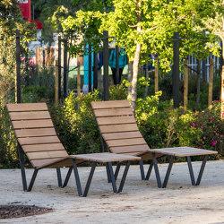 Harpo Sonnenliege | Sitzbänke | URBIDERMIS SANTA & COLE