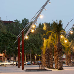 Latina | Street lights | URBIDERMIS SANTA & COLE