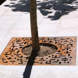 Piet Mondrian | Tree grates / Tree grilles | URBIDERMIS SANTA & COLE