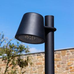 Tumbler lighting pole application | Street lights | URBIDERMIS SANTA & COLE