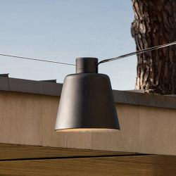 Tumbler catenary application | Outdoor pendant lights | URBIDERMIS SANTA & COLE