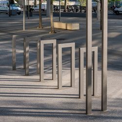 Cinéo Bike Rack Low | Bicycle stands | Univers et Cité