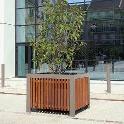 Cinéo Planter Square | Plant pots | UNIVERS & CITÉ
