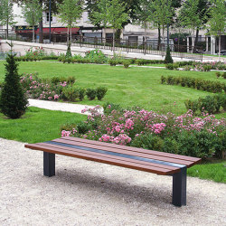 Classico Backless Bench | Benches | UNIVERS & CITÉ