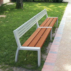 Cléa Mixed Bench | Benches | UNIVERS & CITÉ