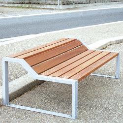 Cléo Backless Bench | Benches | UNIVERS & CITÉ