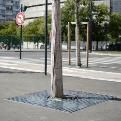 Evolution Tree Grates | Tree grates / Tree grilles | UNIVERS & CITÉ